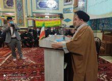 حضور حجت السلام دکتر میر تاج الدینی در روستای مایان