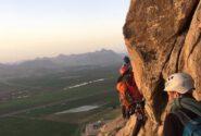 صعود آقای شیرزاد کبیر به دیواره  بیستون کرمانشاه